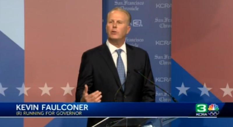 Kevin Faulconer at debate