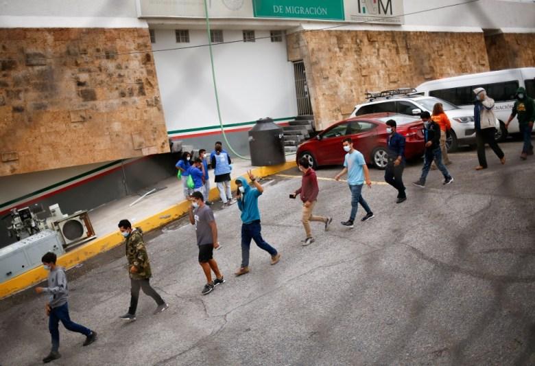 Expelled migrants in Ciudad Juarez