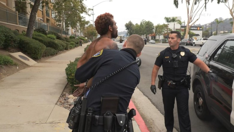 Mission Valley robbery suspect