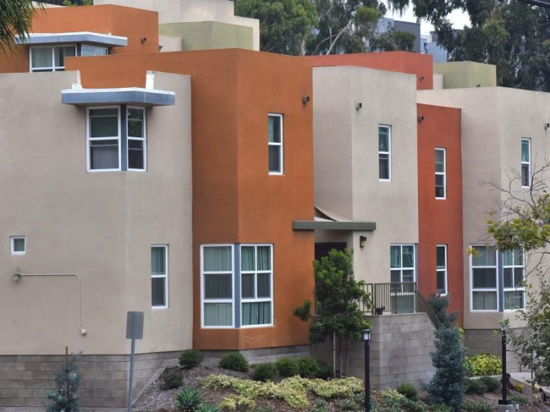 Apartments in Mission Valley. Photo by Chris Stone