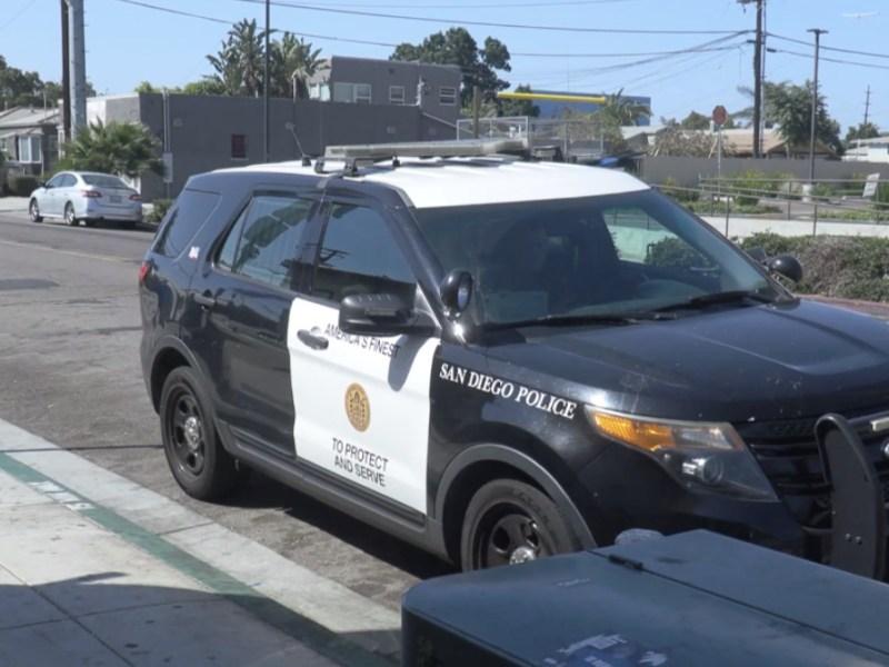 San Diego Police cruiser SDPD vehicle patrol