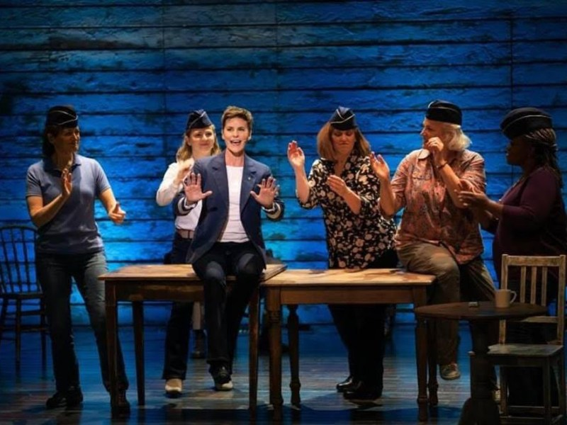 """A scene from """"Come from Away"""""""