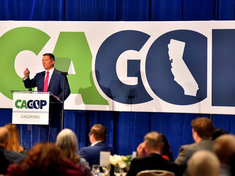 Rep. Ronny Jackson gives pep talk at state GOP luncheon