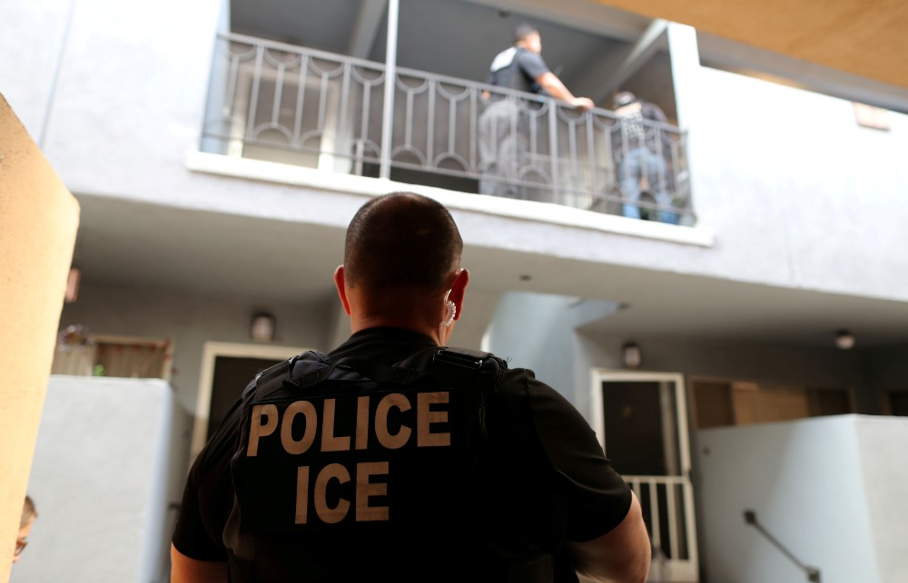ICE officers search for Mexican national