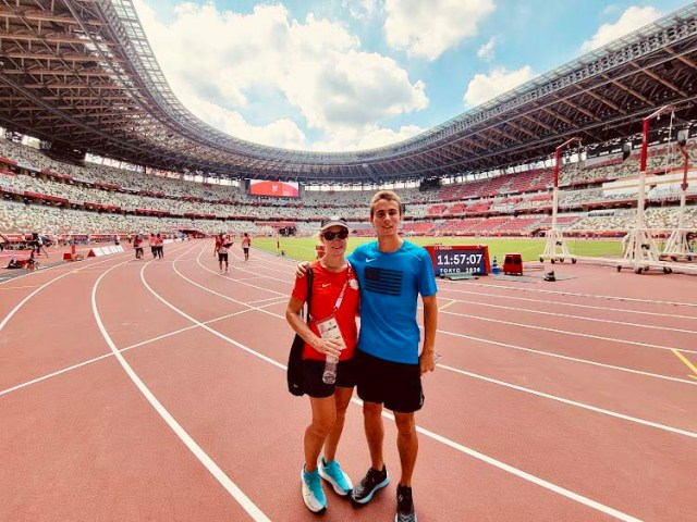 Rynn Whitley Gomez was able to watch her son, Joel, compete at Tokyo Paralympics.