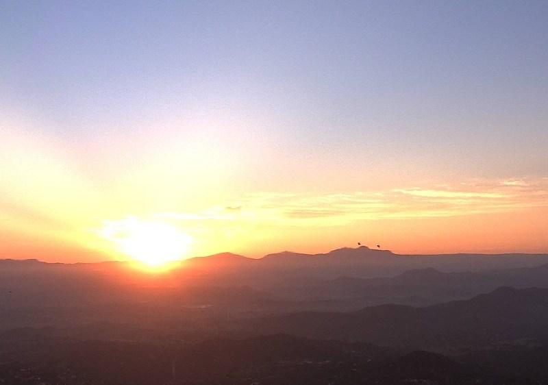 Sunrise from Mt. Woodson