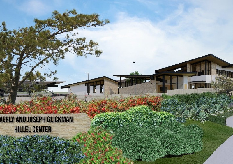 Rendering of UCSD Hillel