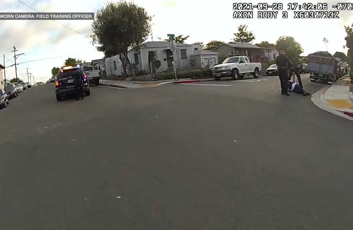 San Diego police OIS