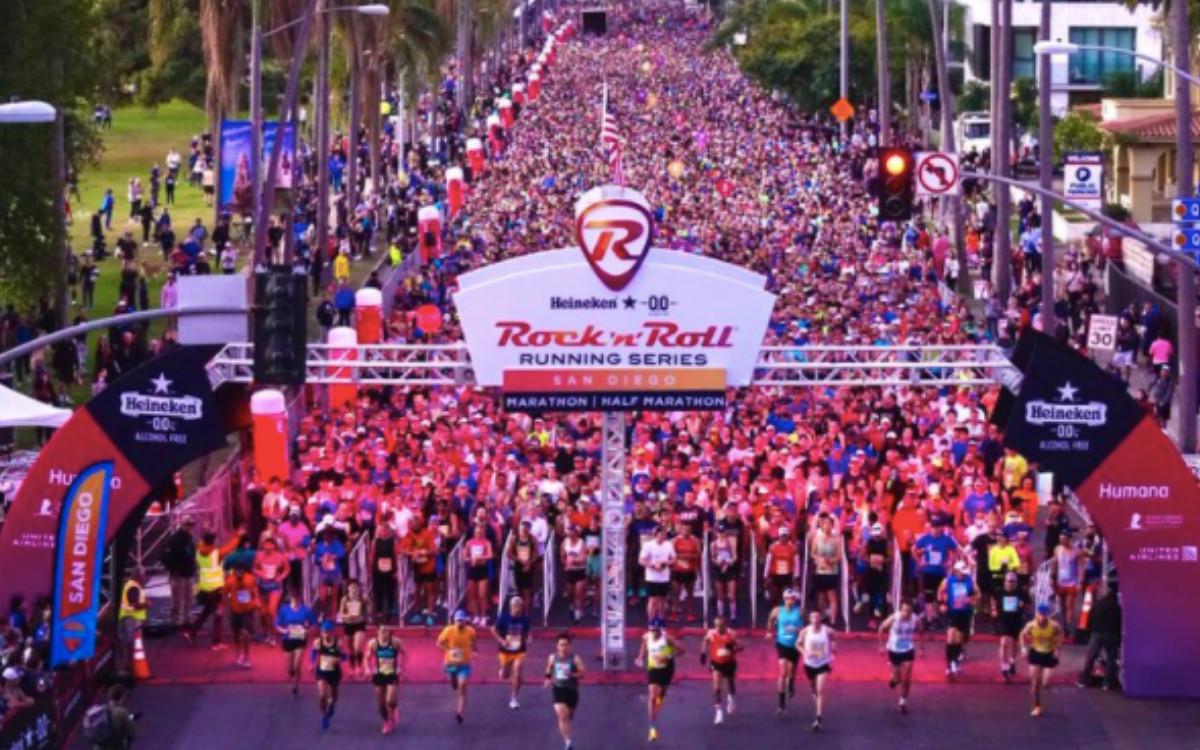 San Diego running