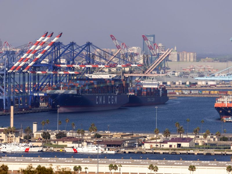 San Diego Port Containers Supply Chain