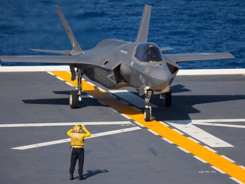 F-35B on Js Izumo