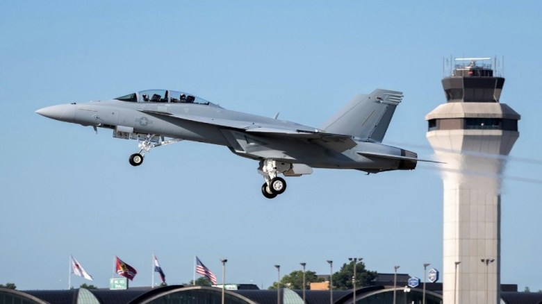 Latest F/A-18F Super Hornet