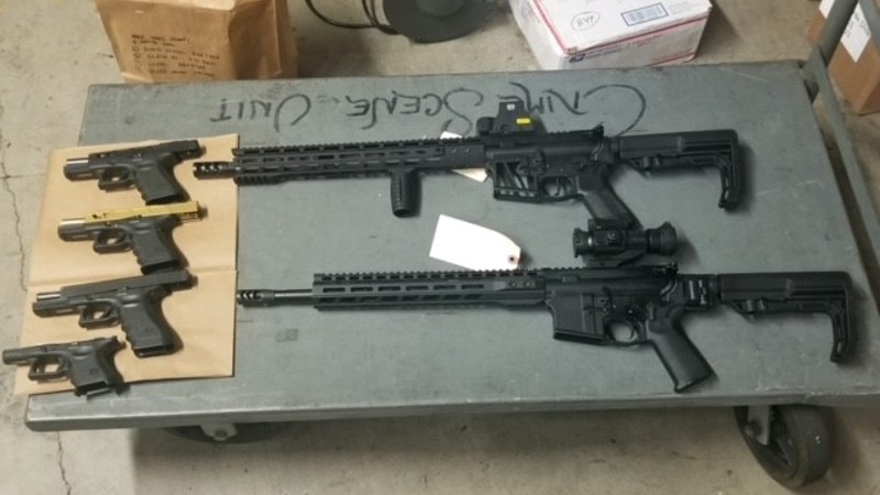 Ghost guns recovered