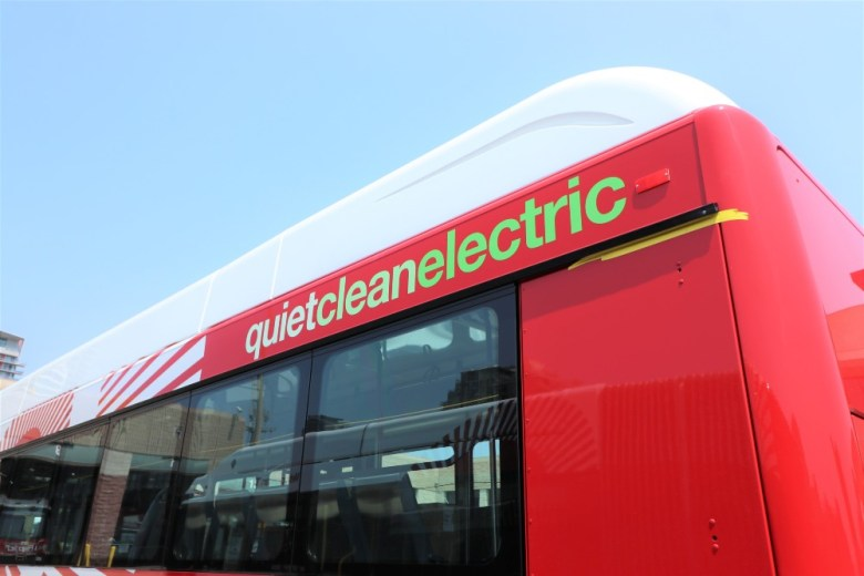 MTS electric bus