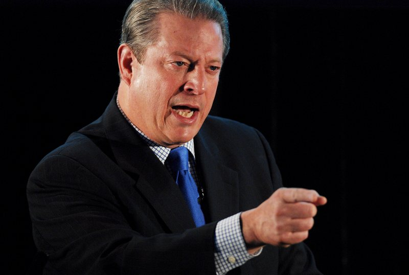 Al Gore Man Bear Pig