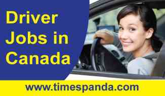 Driver Jobs in Canada