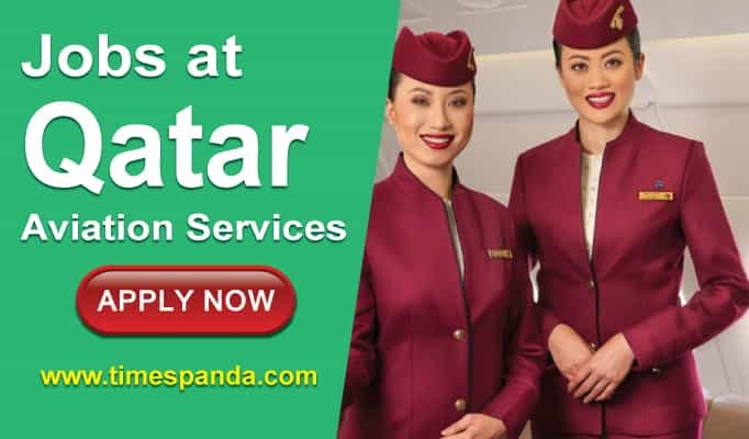 New Jobs at Qatar Aviation Services