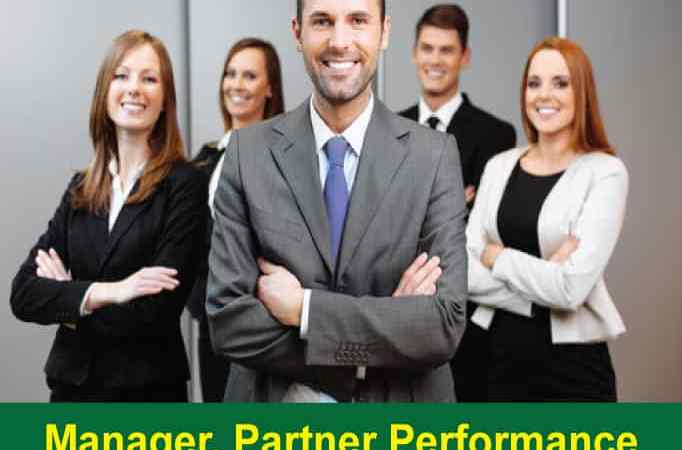 Manager, Partner Performance, On Board Products
