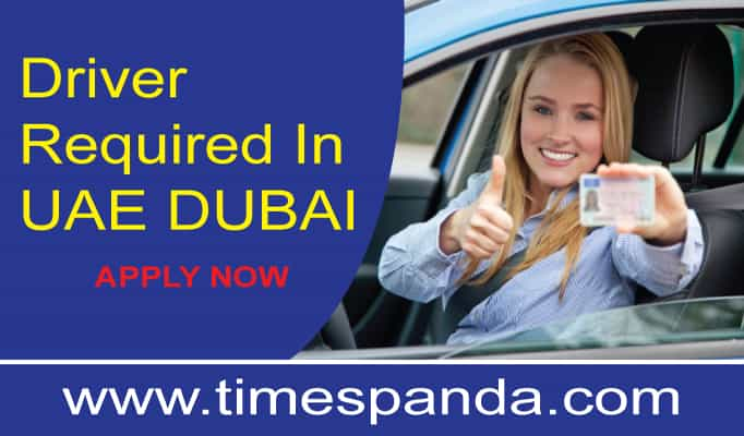 Driver Required In UAE