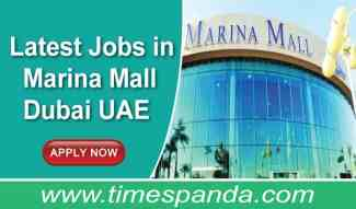 Jobs in Marina Mall Dubai UAE