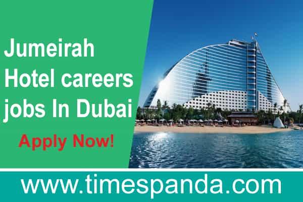 jumeirah group careers dubai