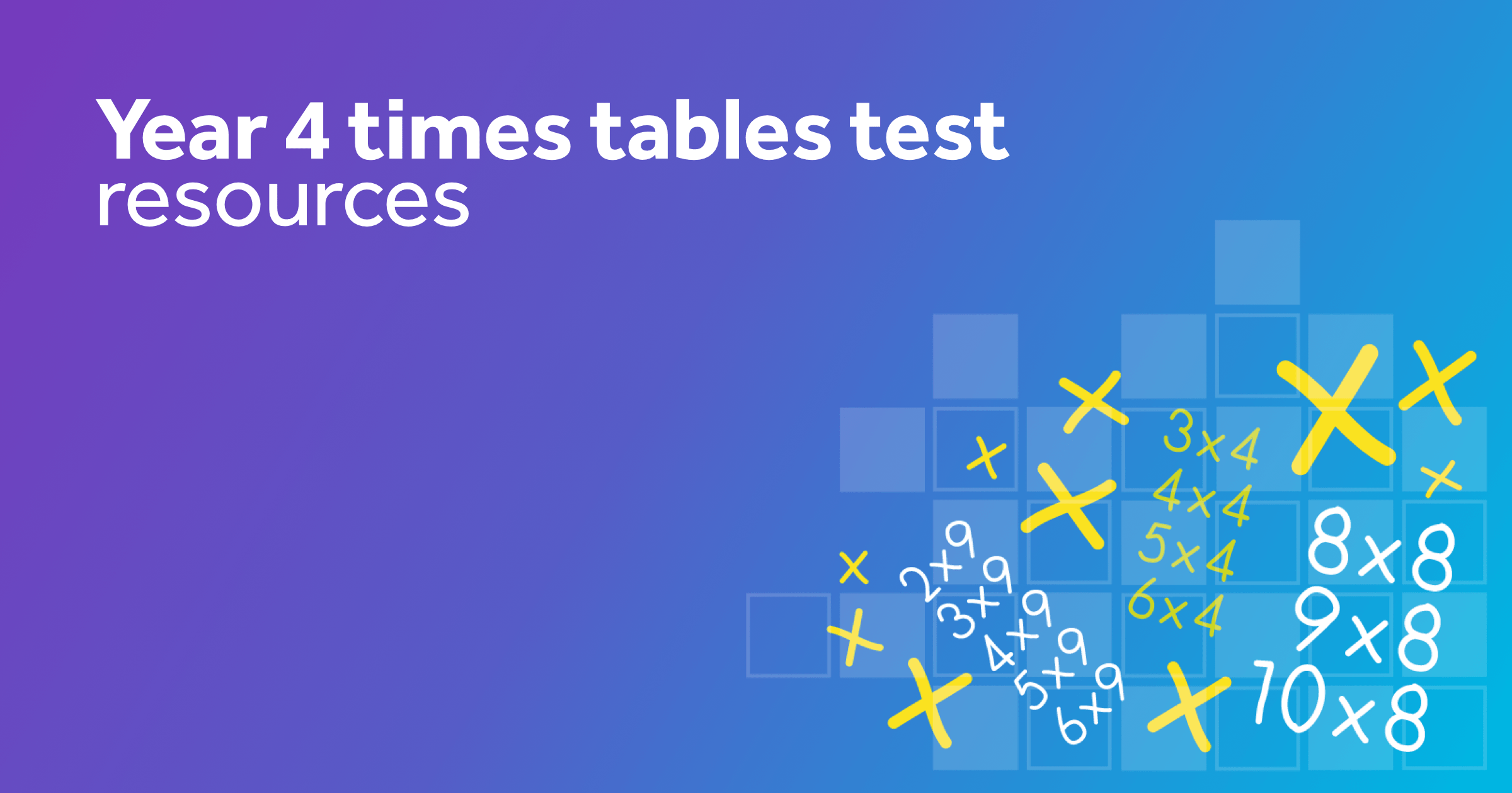 Year 4 Times Tables Test Practice Online