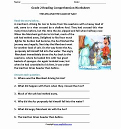 4th Grade Math Reading Problem Worksheets   Printable Worksheets and  Activities for Teachers [ 2200 x 1700 Pixel ]