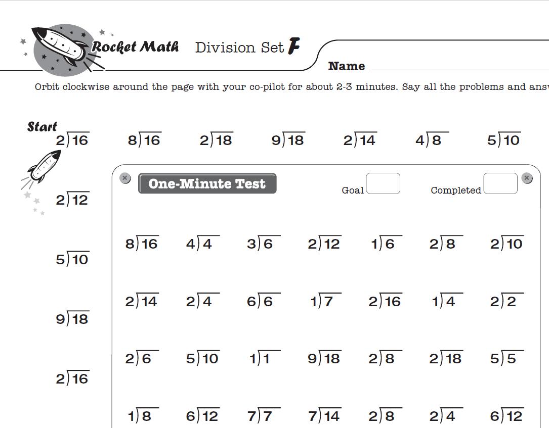 4th Grade Multiplication Test Worksheet
