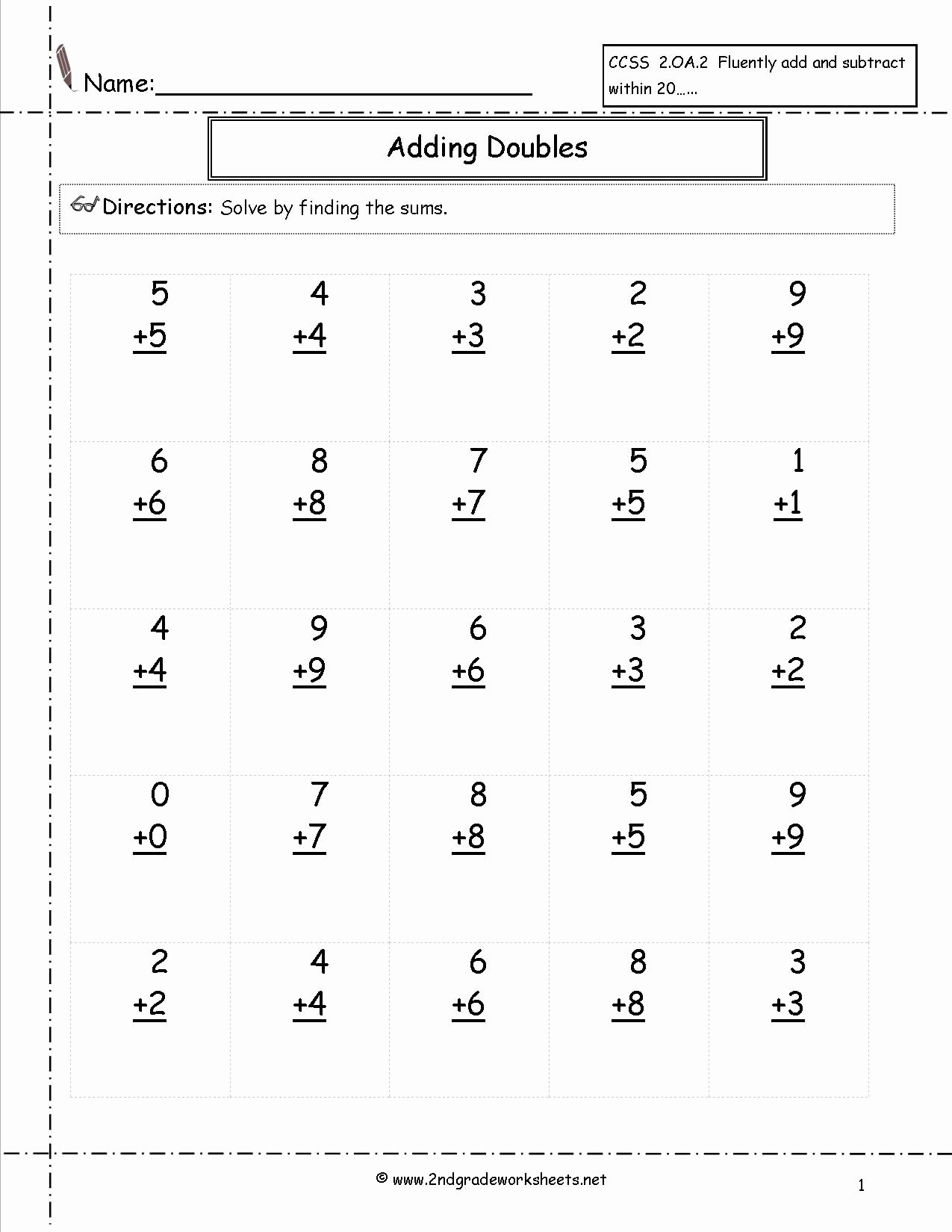 Break Apart Strategy Multiplication Worksheets