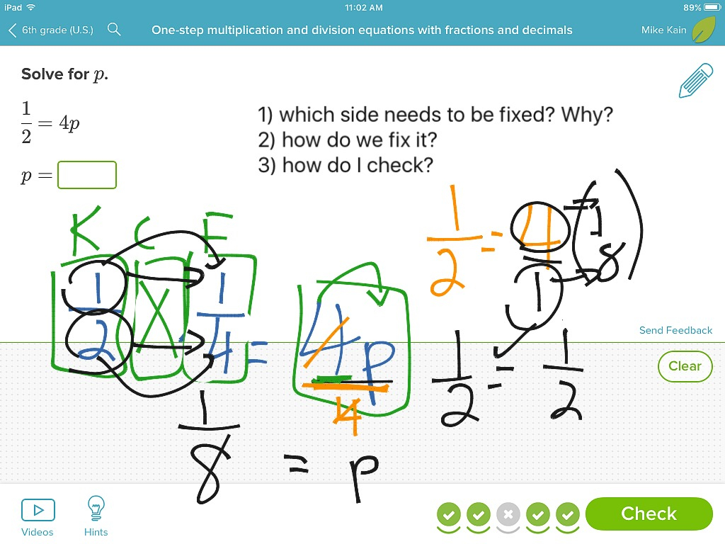 One Step Equations Worksheet Multiplication And Division