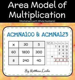 Decimal Multiplication Area Model Worksheet   Printable Worksheets and  Activities for Teachers [ 1040 x 1040 Pixel ]