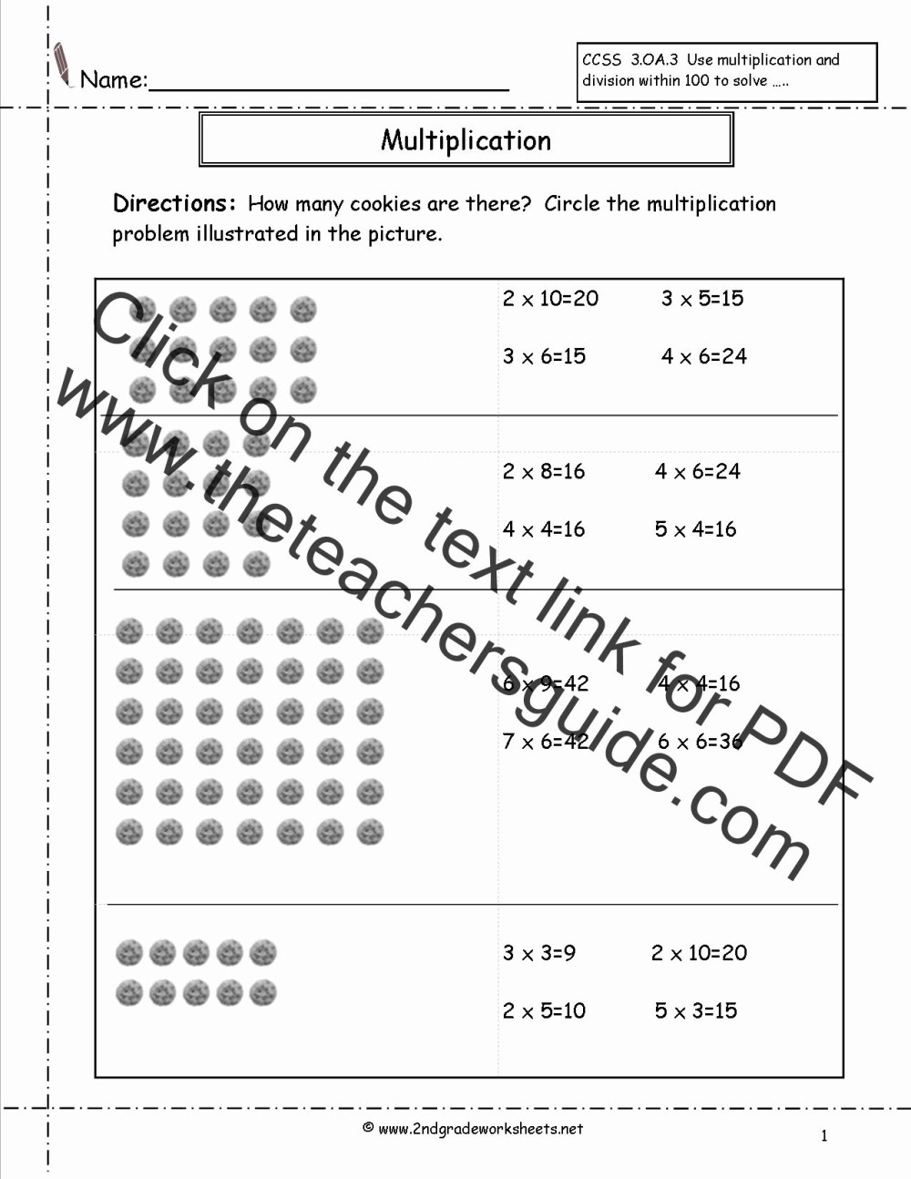 medium resolution of Multiplication Worksheets Butterfly Strategy   Printable Worksheets and  Activities for Teachers