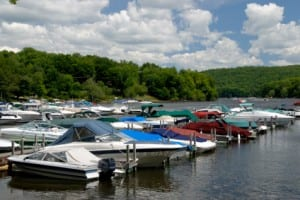 CR's marina Great Sacandaga