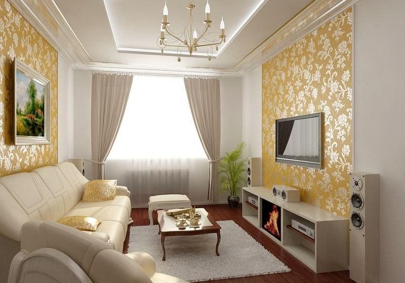 гостиная интерьер дизайн фото 7