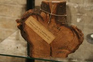 specimen from Kew's wood collection