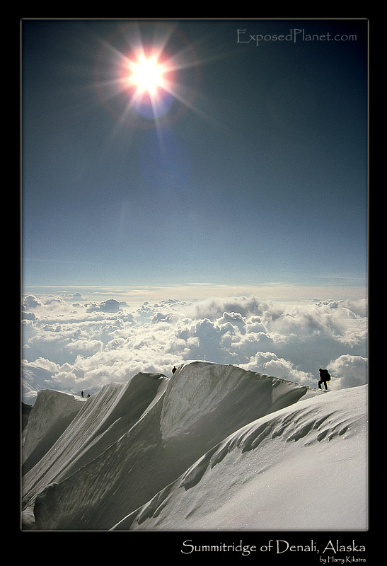 Summit of Denali, courtesy of Exposed Planet