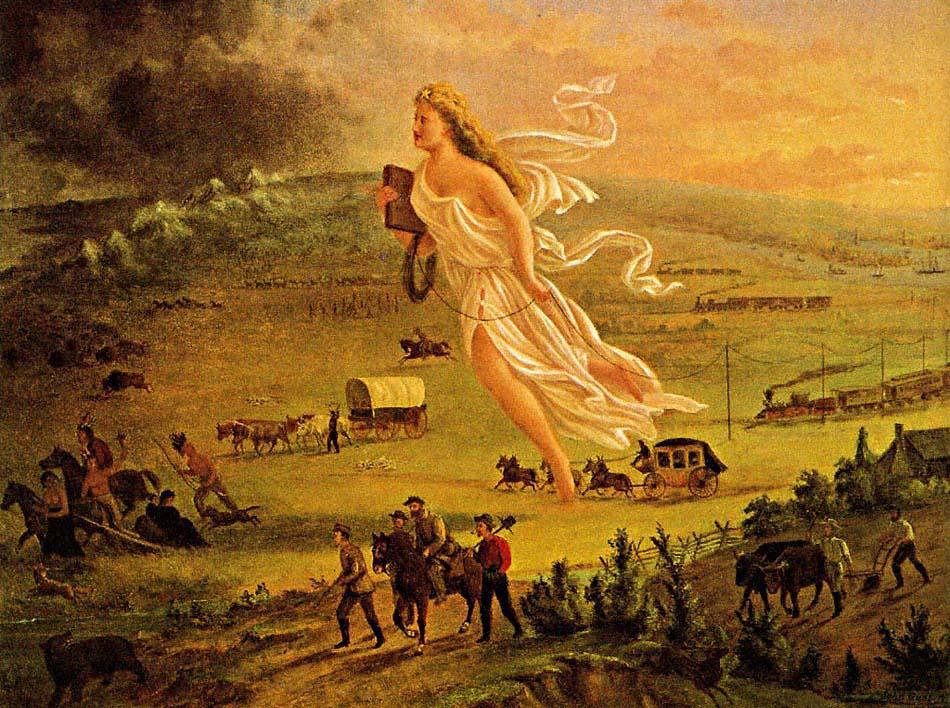 American Progress, John Gast, 1872