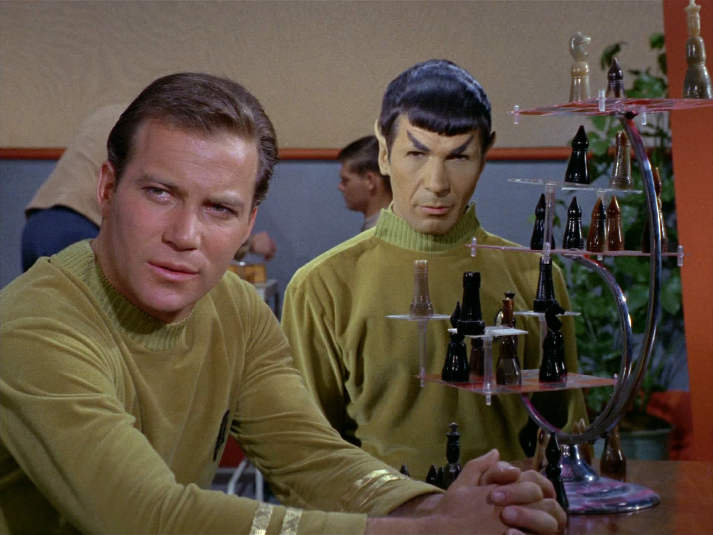 Spock administers the Tridimensional Personality Questionnaire