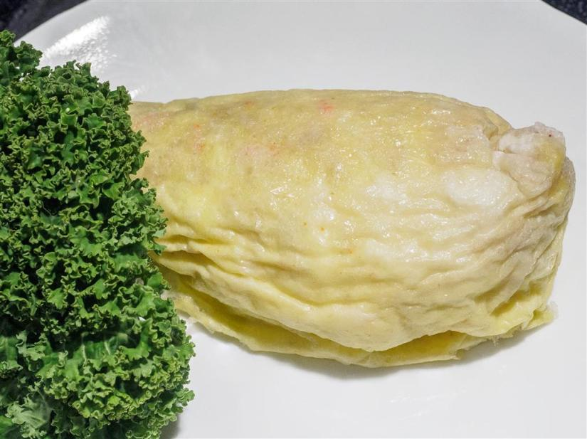 Omelet in the bag