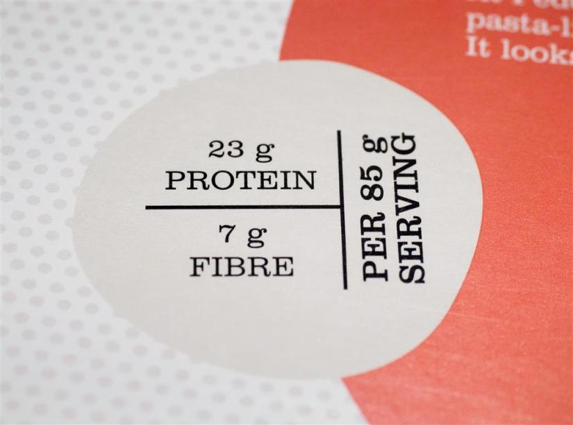 red lentils penne nutrition