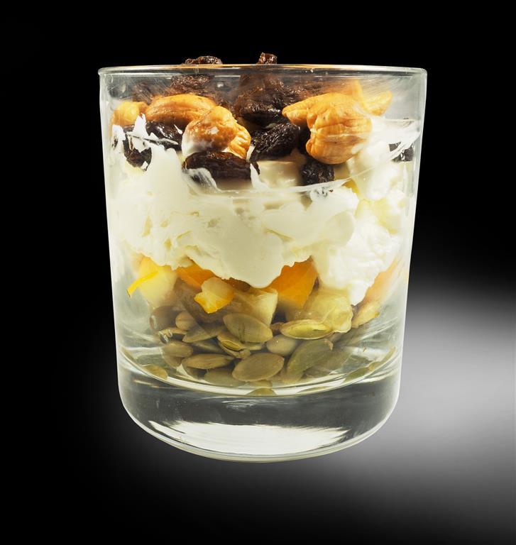 Parfait with cultured cream