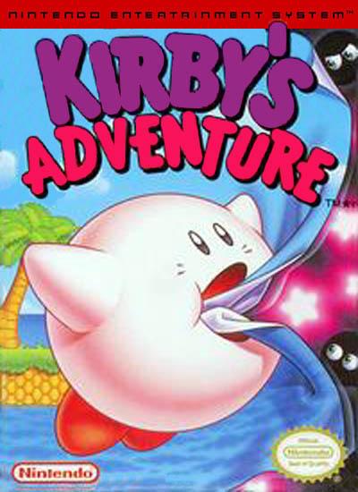 Kirby Adventure Nes Box
