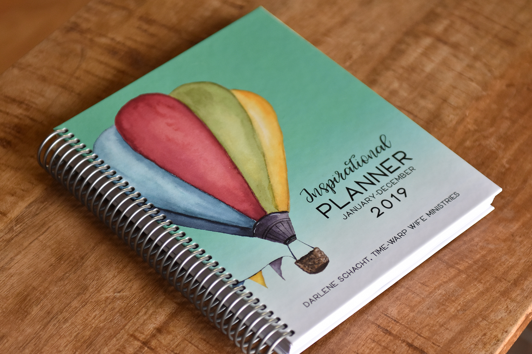 the inspirational planner organize