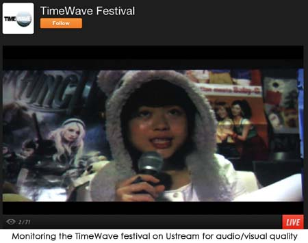 TimeWave Ustream
