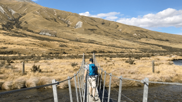 Edoras rope bridge