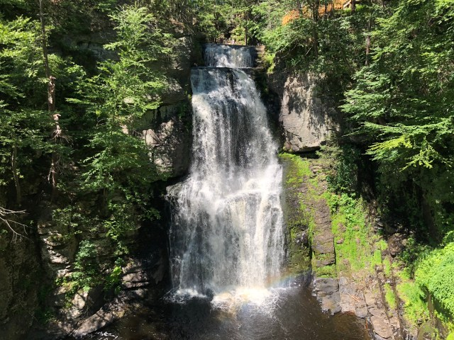 Bushkill Falls in Pennsylvania.