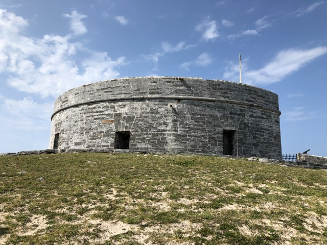 The oldest stone fort in the Western Hemisphere.
