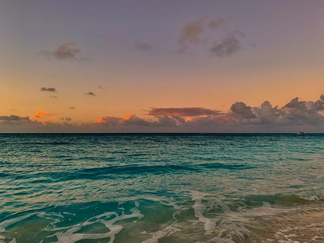 Twilight in Grace Bay