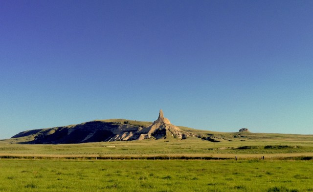 Chimney Rock from the Oregon Trail!