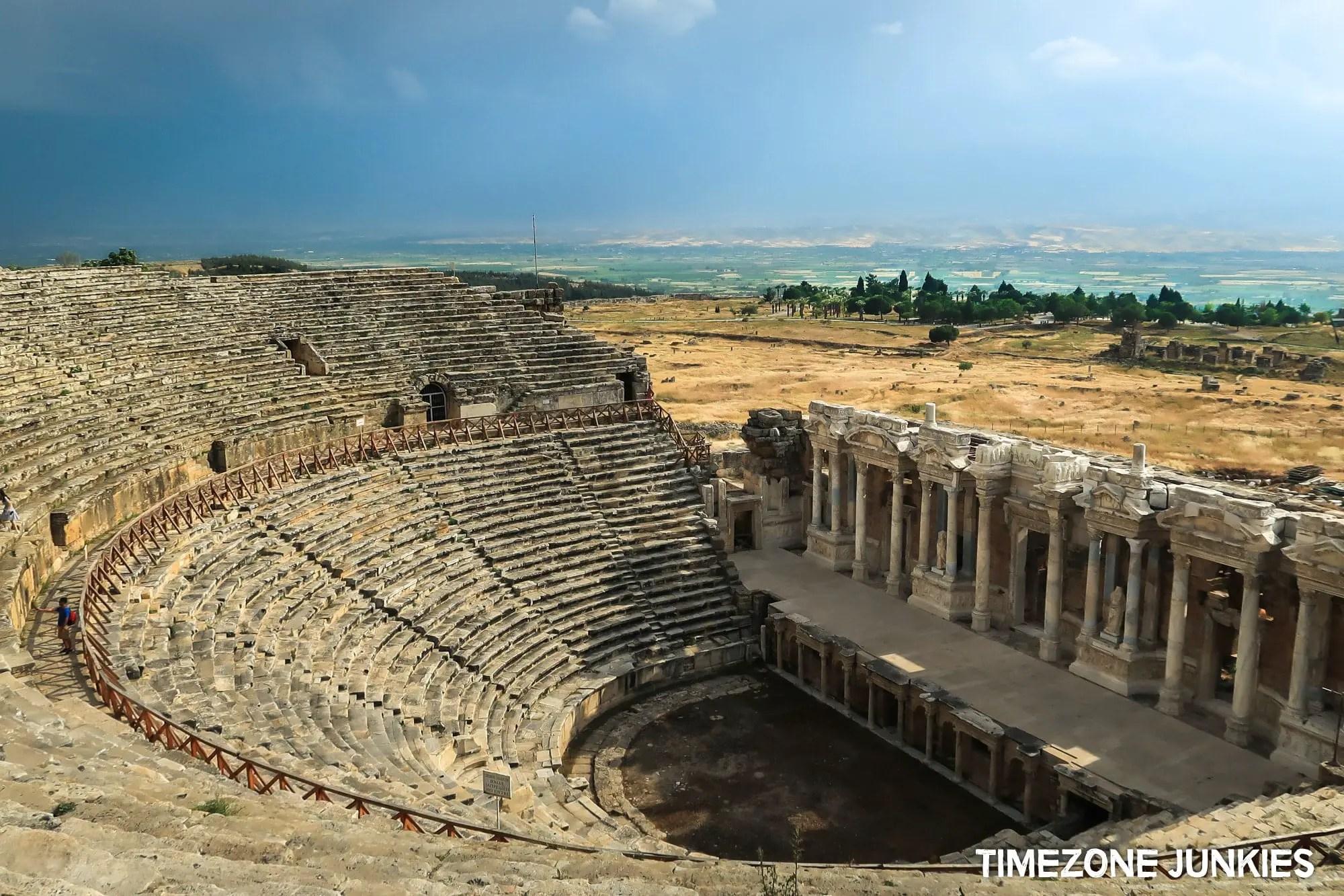 Hierapolis Amphitheatre Pamukkale Turkey